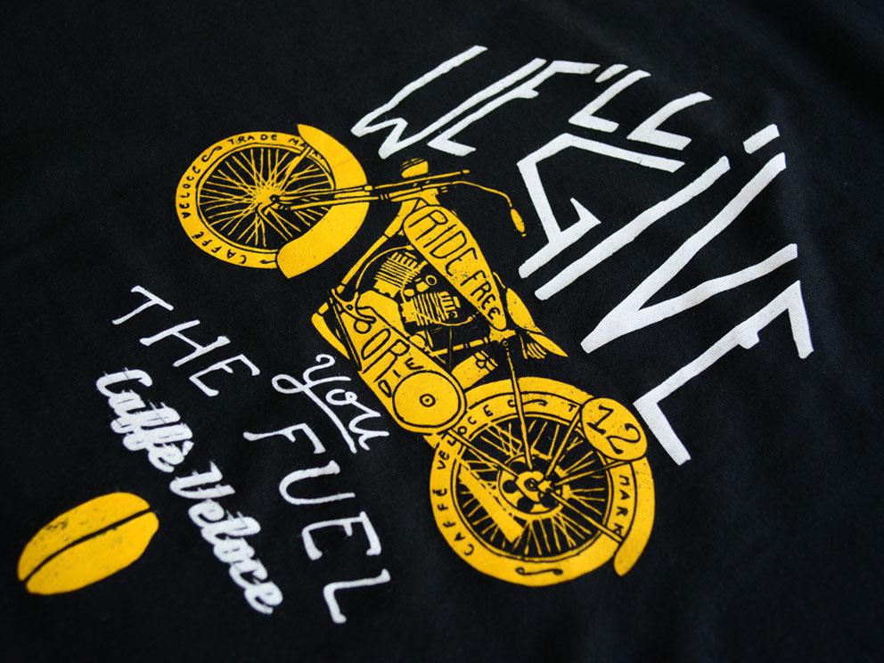 T-Shirt Bike Logo Front