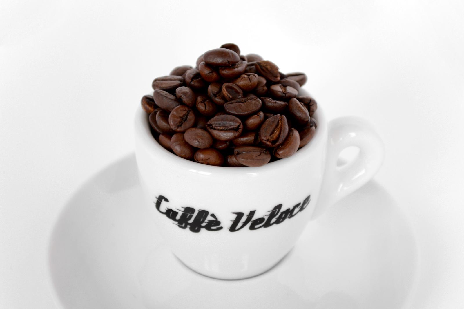 Espresso Cup - Tazza caffè con chicchi caffè